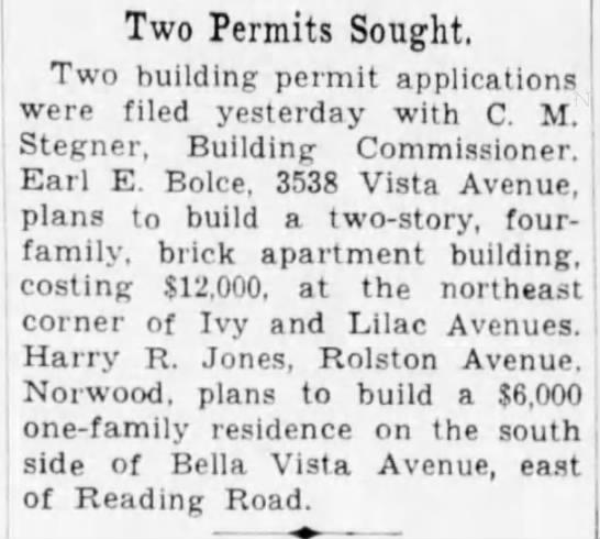 1743 permit sought
